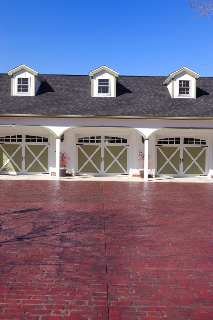 CARRIAGE HOUSE OVERLAY DOORS - at Omega Garage Doors - Melbourne, Ocala, Florida