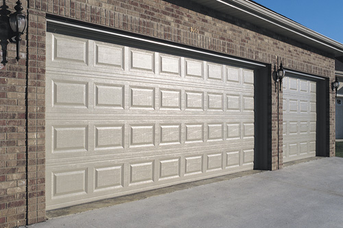 RAISED PANEL STEEL DOORS - at Omega Garage Doors - Melbourne, Ocala, Florida