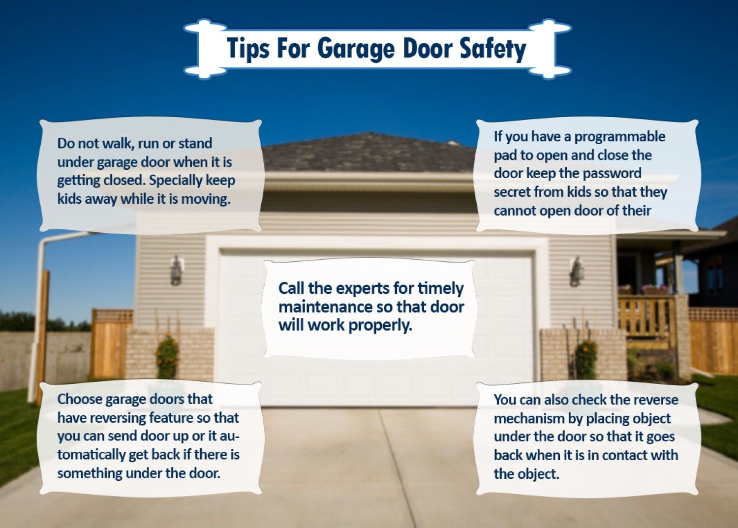 The Door & Access Systems Manufacturers Association and the International Door Association have named June as garage door safety month. This makes it the perfect time to increase the safety awareness related to garage doors.
