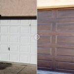 New Insulated Long Raised Panel Steel Garage Door Project