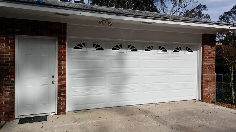 New Urethane Insulated Garage Door - After