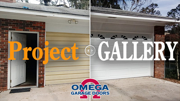 Omega Garage Doors Project Gallery