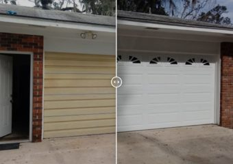 Staying COOL with a New Urethane Insulated Garage Door