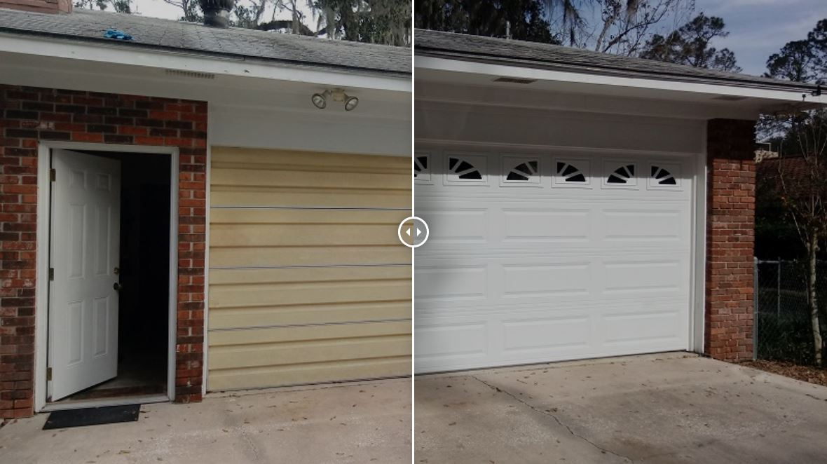New Urethane Insulated Garage Door Project
