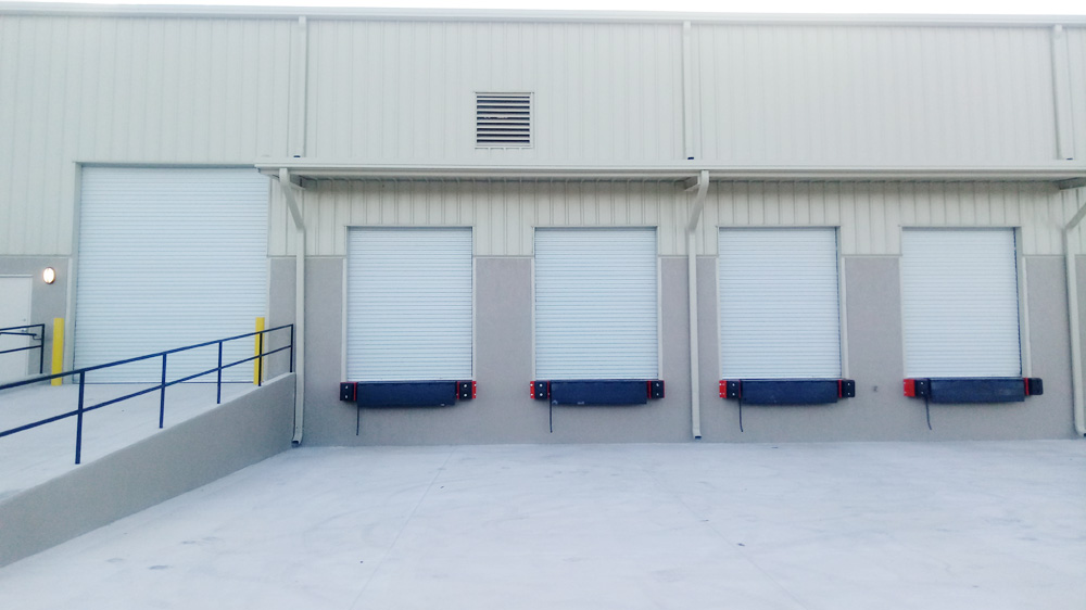 Omega Garage Doors - Commercial Doors and Dock Equipment project