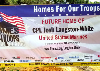 Special Project Helps Rebuild Lives with Homes for our Troops