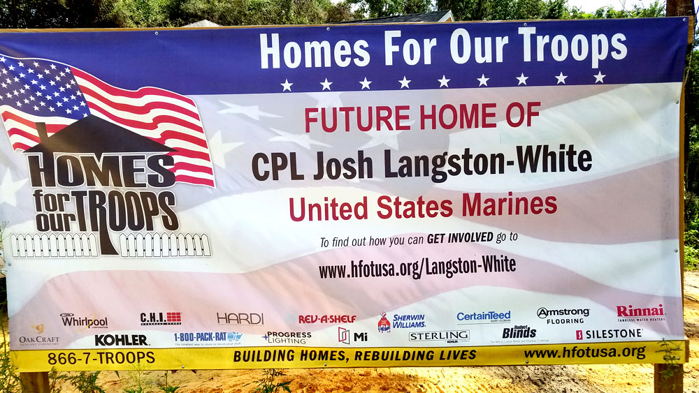 Omega Garage Doors Florida - Homes For Our Troops Event