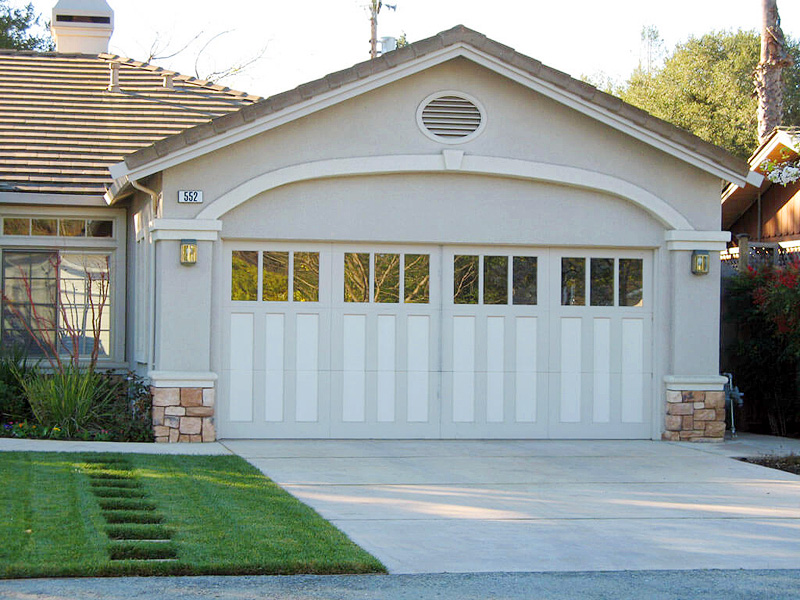 Garage Door Replacements Rank Top Home Improvement for ROI